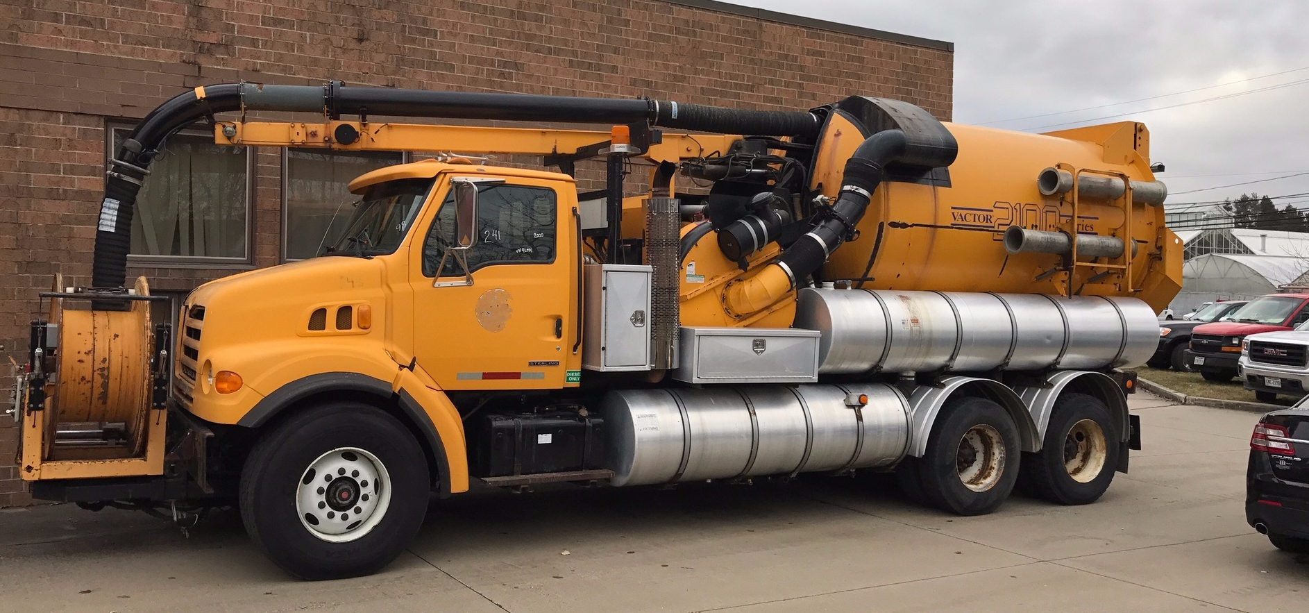 Herring Sanitation offers Vactor Truck Manhole Services
