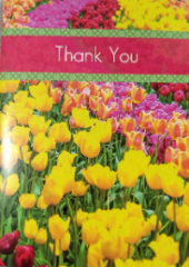 Thank you card from the Lashers for Septic Repair help - Wappingers Falls NY