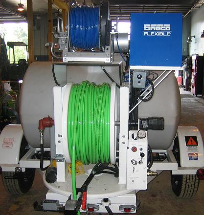 Herring Sanitation Snaking and Jetting Pump