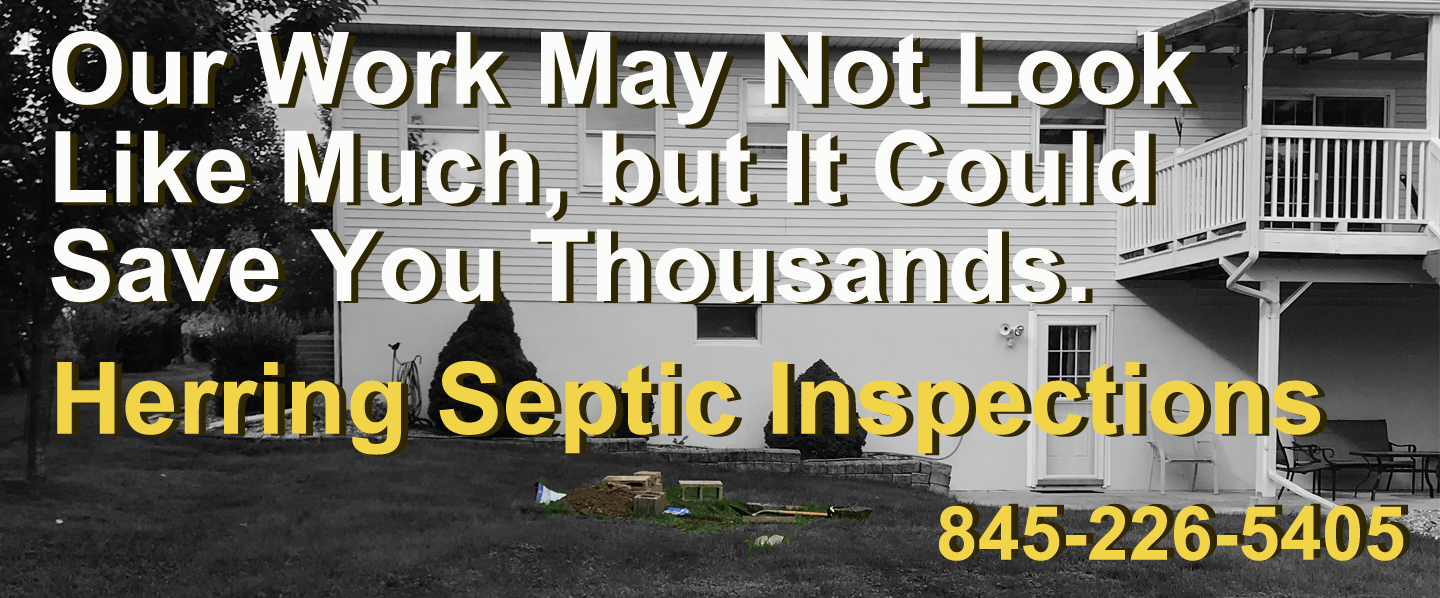 Herring is your neighborhood septic company serving Fishkill, Poughkeepsie, Newburgh, New Paltz and beyond in the Hudson Valley