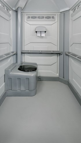 Interior Handicapped Portable Toilet Portapotty