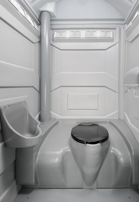 Construction Unit Interior Portable Toilet Portapotty