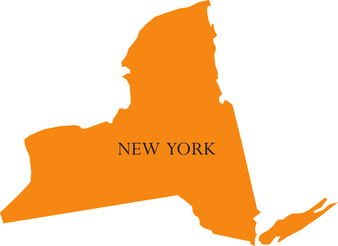 Map of New York State - Septic Service Coverage